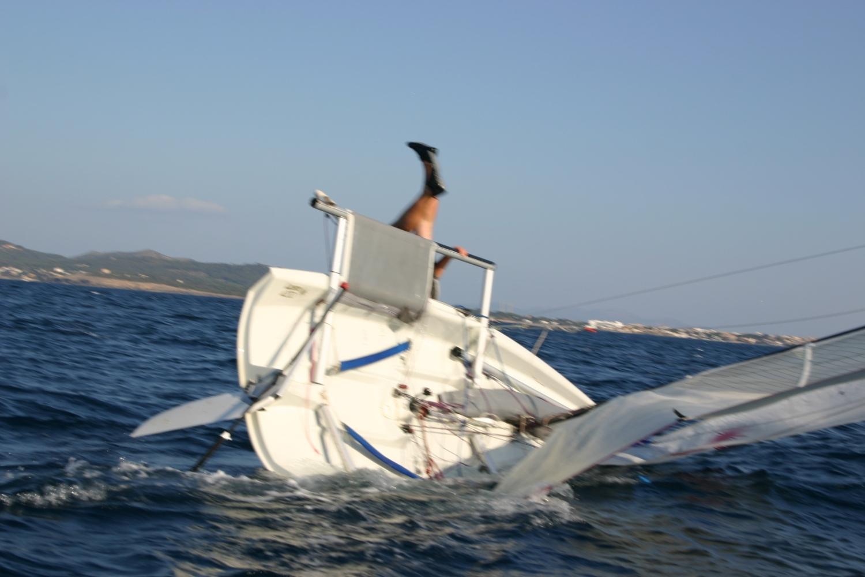 Wende segeln