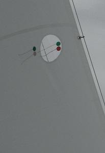 Trimm der Segel Holepunkte Inhouler Schot Cunningham