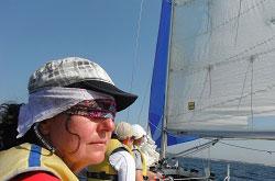 Skipper- & Crew-Training Segeln Mallorca MasterClass auf kleinen Kielbooten Spinnaker bis Regattatraining