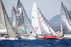 Segel- & Regatta-Training Segeln Mallorca MasterClass Gennaker segeln Spinnaker segeln Regatta-Training Regatta segeln bei Princesa Sofia PalmaVela und Copa del Rey