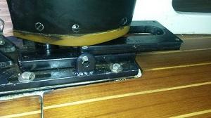 Kohlefaser Mast trimm mit Mast Jack