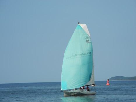 Segel Training Mallorca im Mittelmeer