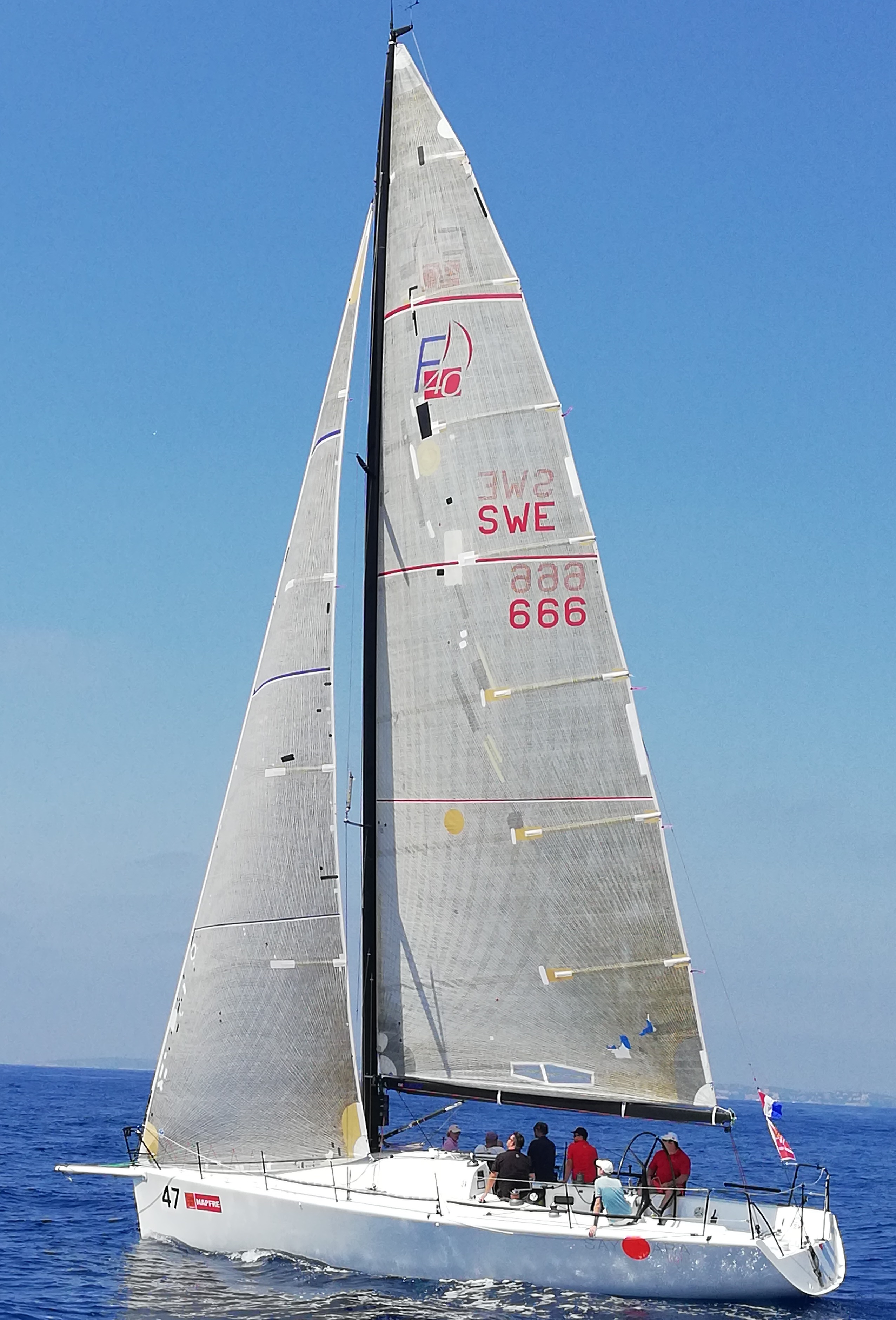 Copa del Rey 40 Boote in unserer ORC Gruppe