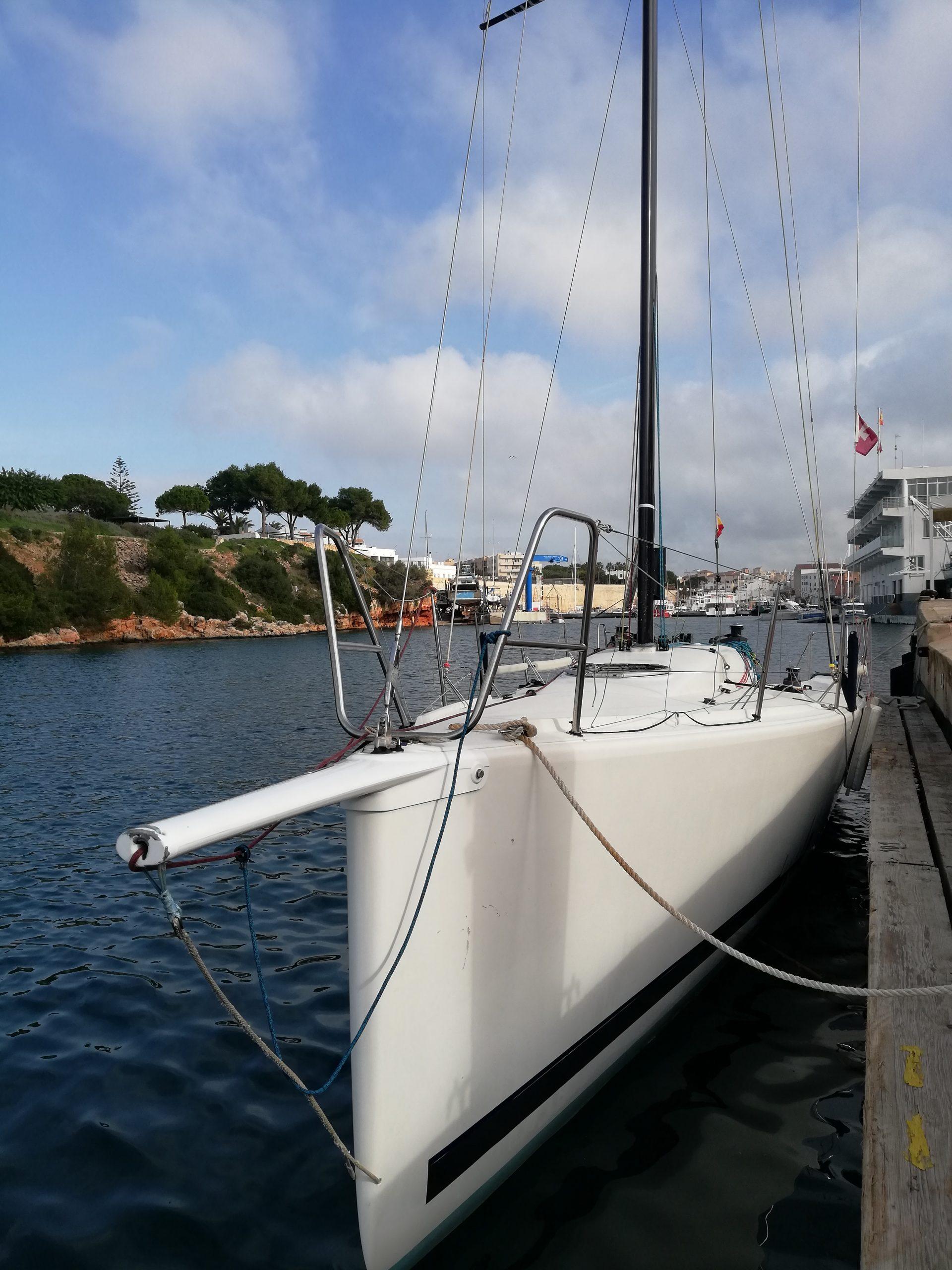 Bug M34 Petit Chasseur Gennaker Blister segeln