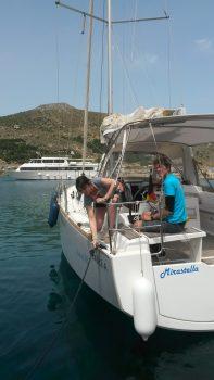 Hafen-Training in Mallorca