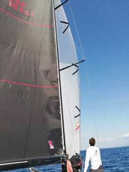 Gennaker für die Regatta auf Mallorca