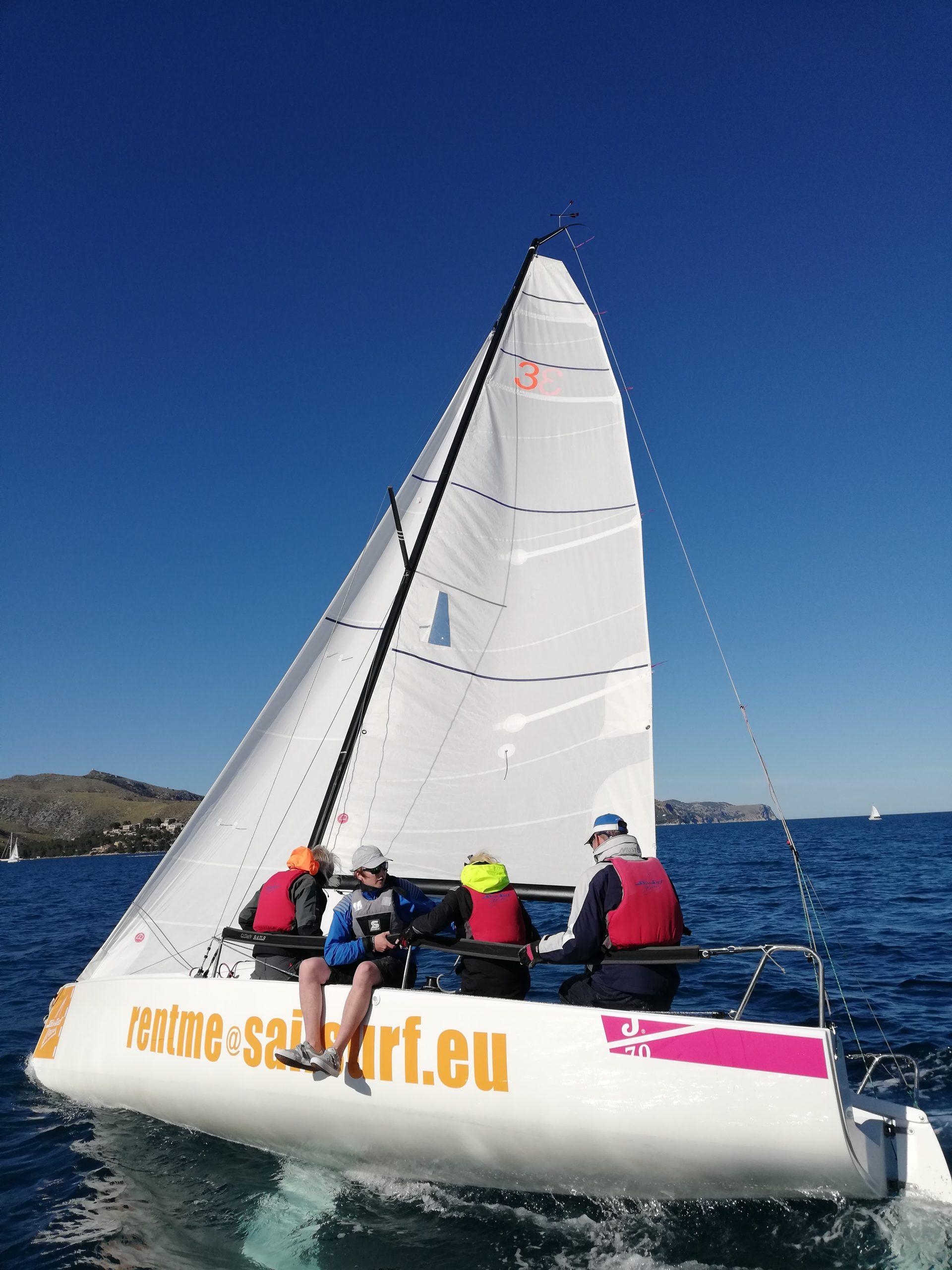 J 70 segeln MasterClass Pollensa